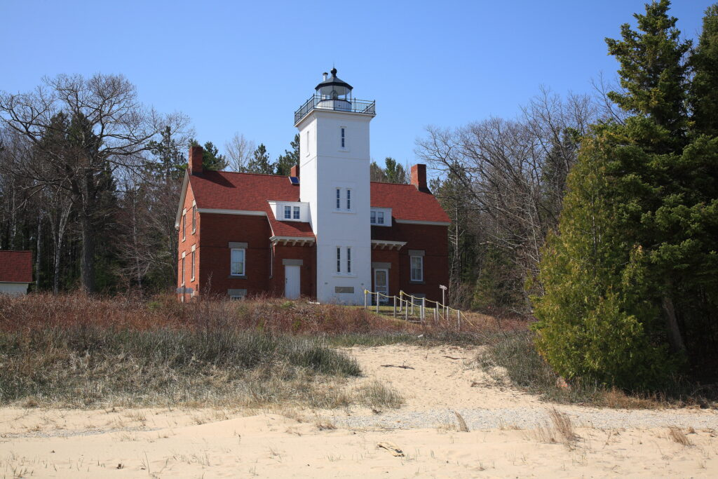 Lighthouse – 40 Mile Point, Michigan