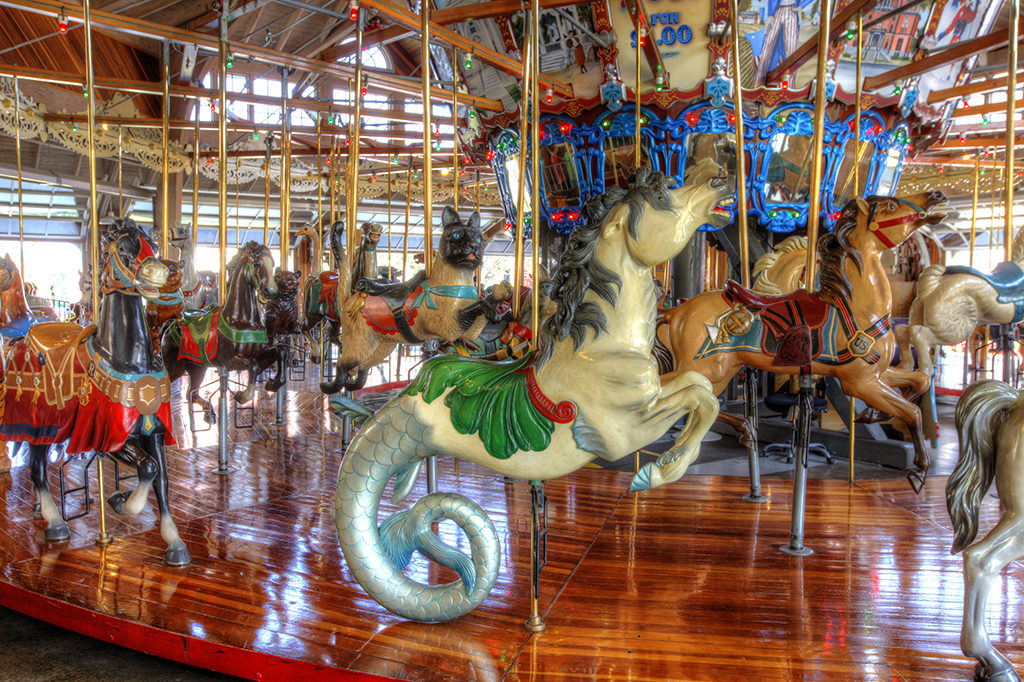 Carousel Works, Mansfield, Ohio