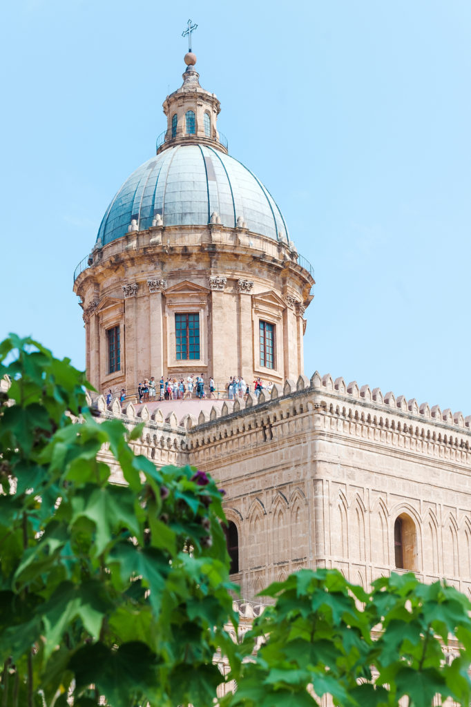Palermo, Sicily, Italy – August, 2018: Arab-norman Architectural
