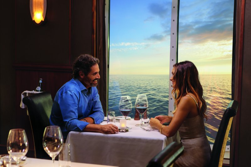 ncl_Hawaii_couple_dining_LeBistro_1