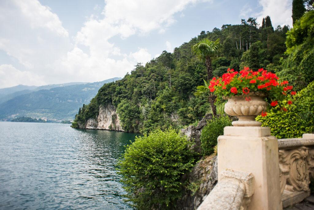 Villa Balbianello. Lake Como. Italy – July 19, 2019: Stunning La