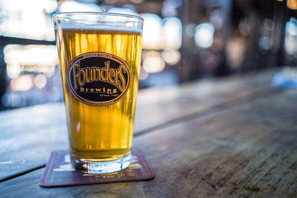 Founders Brewing Co. Beer