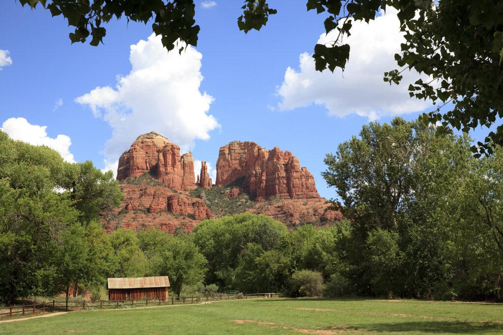 Sedona, Arizona / Usa – August 01, 2015: Oak Creek Canyon Area N